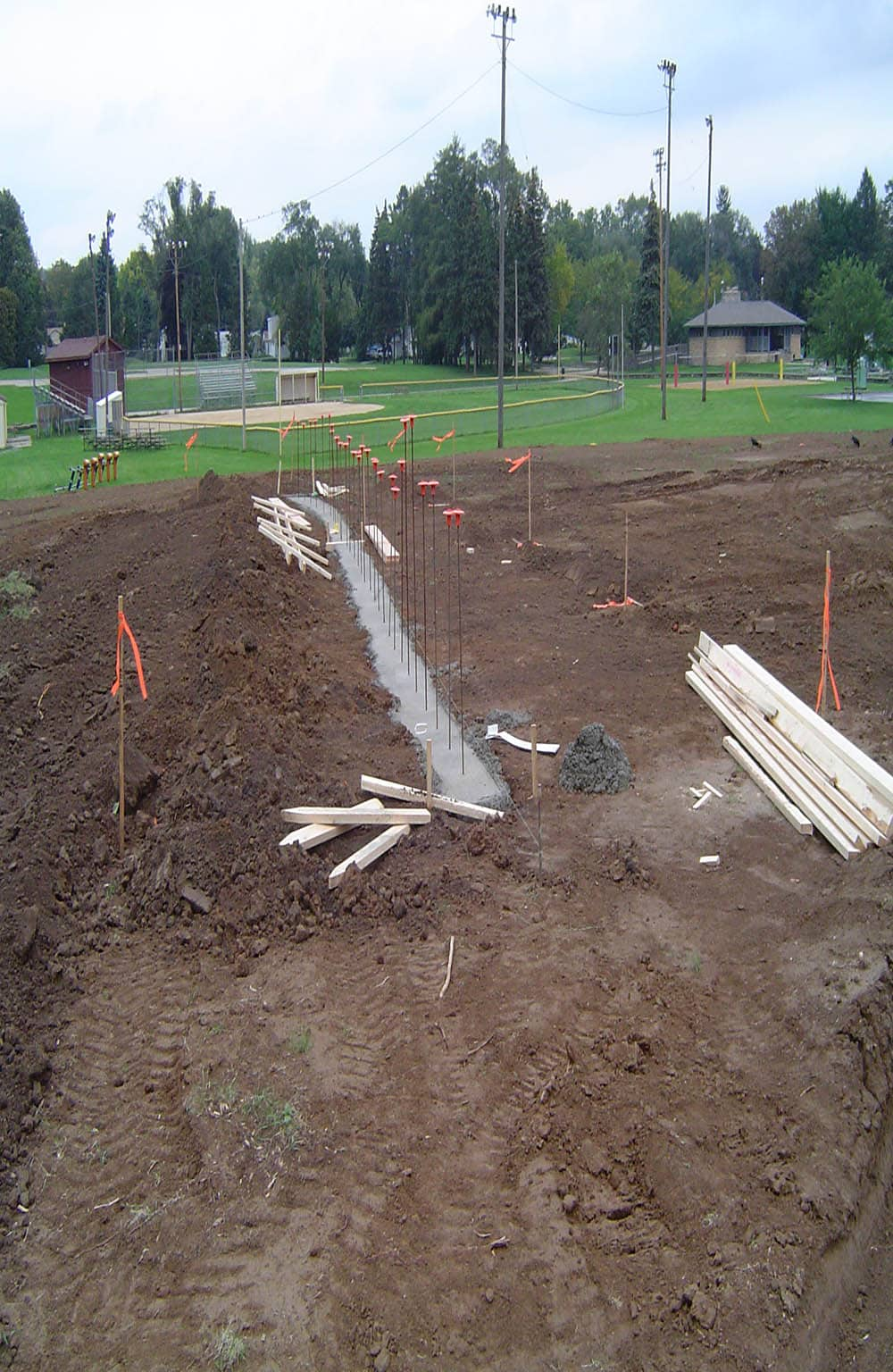 Little Cubs Field Beginning Construction